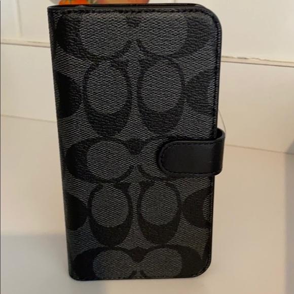 iPhone 10 Coach case